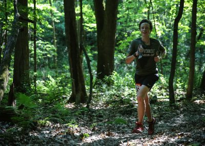 14 Year Old Andrew Lewis Enroute to a 50KM Finish - Photo Credit Cary Johnson