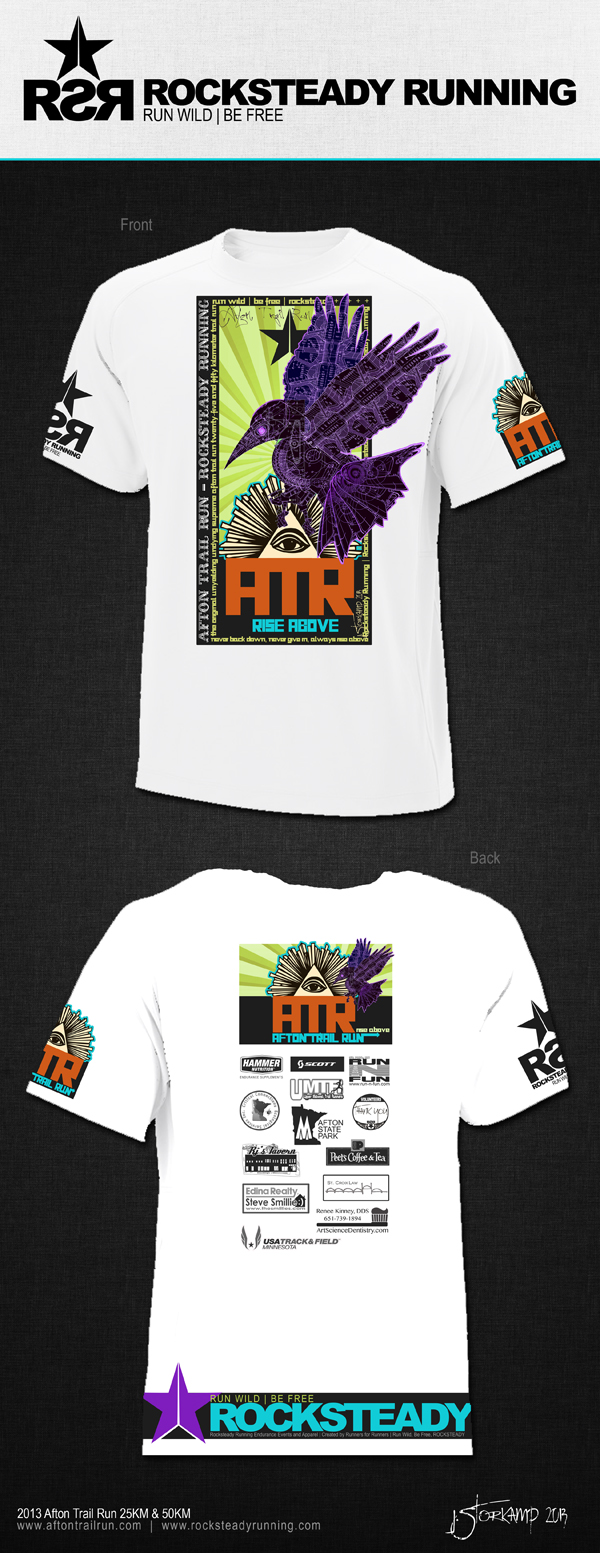 2013 Afton Trail Run Race Shirt