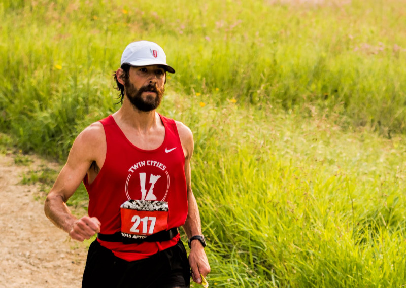 2015 50KM Winner Chris Lundstrom Doing what He Does - Photo Credit Todd Rowe