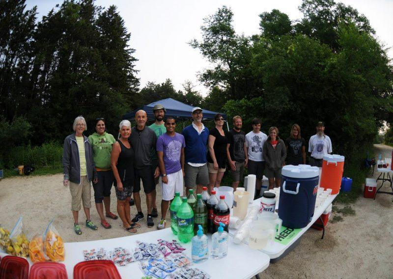 ATR Bluestem Aid Station Volunteers - Photo Credit Amy Husveth