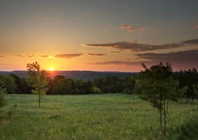 Afton Sunset - Photo Credit Todd Rowe
