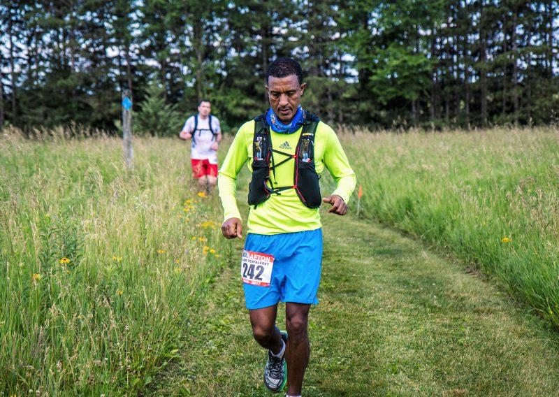 Alem Tesfaledet Concentrating - Photo Credit Fresh Tracks Media