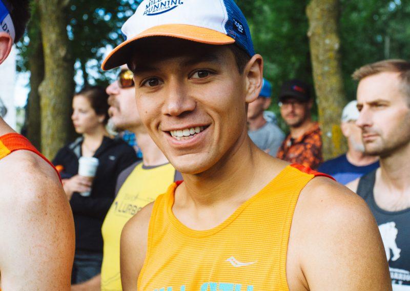 Happy To Be At The Afton Trail Run - Photo Credit Carly Danek