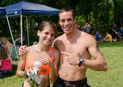 Jayna Tilstra Finishes Her First 50K - Photo Todd Rowe