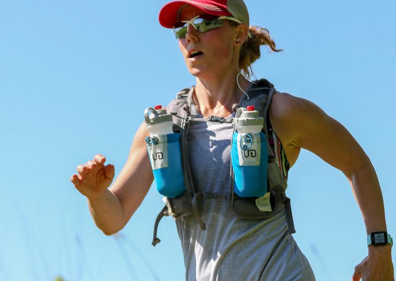 Katie Bliss Finishing the 25KM - Photo Credit Paul Nye