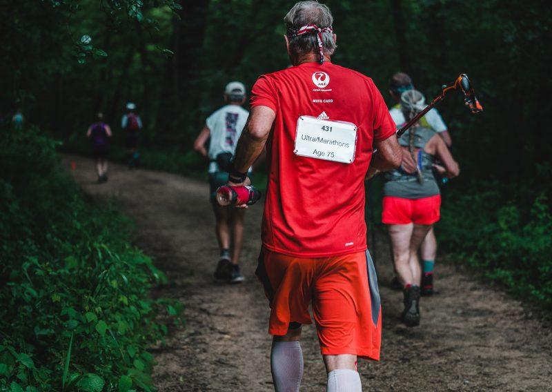 Les Martisko Racking up the Finishes - Photo Credit Fresh Tracks Media