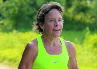 Midwest Ultrarunning Legend Anne Heaslett - Photo Credit Katie Sehloff