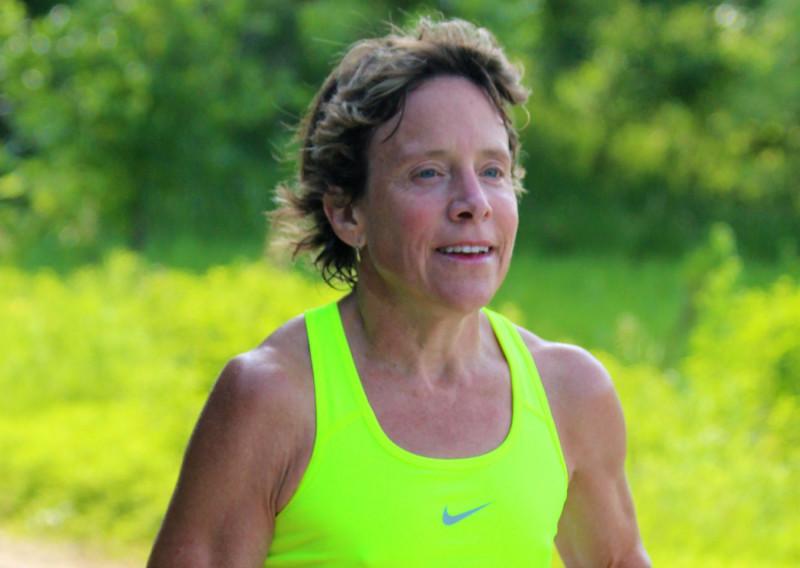 Midwest Ultrarunning Legend Anne Heaslett - Photo Credit Katie Sehloff