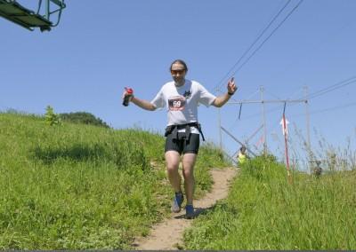 Paul Hasse Happy on the Trails - Photo Credit Dean Neuburger