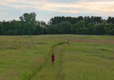 Prairie Running - Photo Credit Allison Carolan