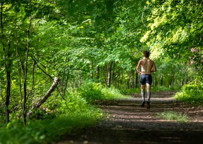 Quiet Miles On the River Trail - Photo Credit Tone Coughlin