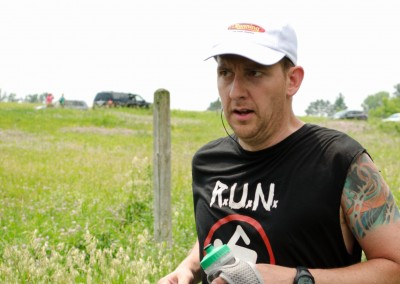 Race Sponsor Steve Smillie Finishes His First 50K - Photo Credit Todd Rowe