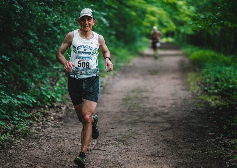 Robert Day Enjoying the Run - Photo Credit Fresh Tracks Media