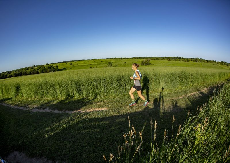 Rolling Through the Prairie at Afton - Photo Credit John Schultz