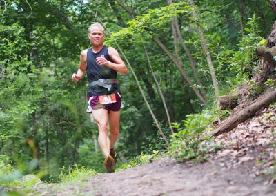Steve English Getting in a Final-Training Run Before Leadville 100 - Photo Credit Kevin Langton