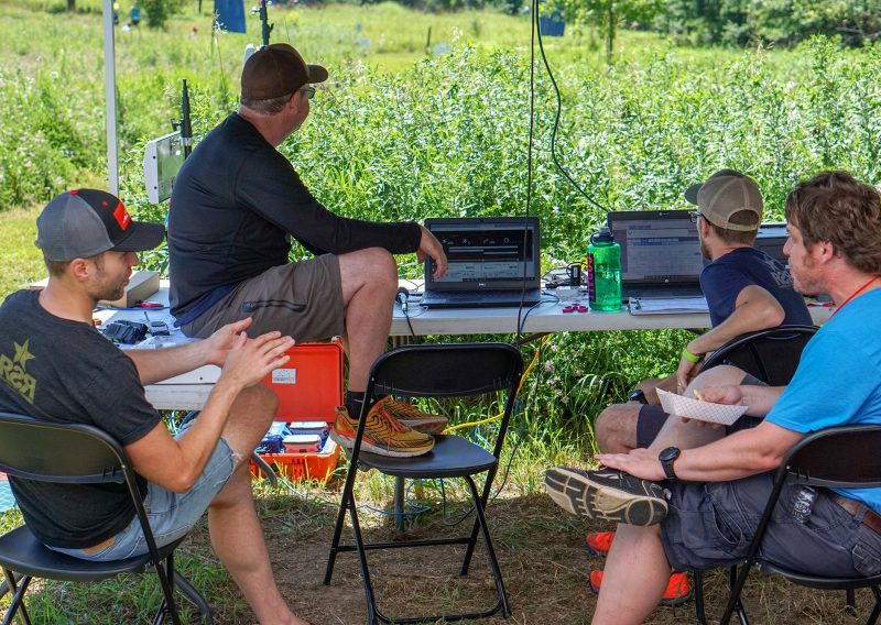 The Timing Team - Photo Credit Jamison Swift