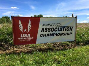 USATF MN Association Championship Banner