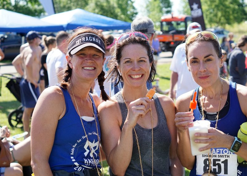 Why Yes We Have Popscicles at the Finish - Photo Credit Jamison Swift
